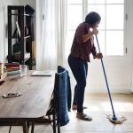 3 steps to clean a new house in a day